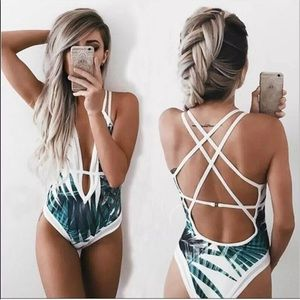 Other - COMING SOON ❗️ Beautiful One Piece Leaf Swimsuit